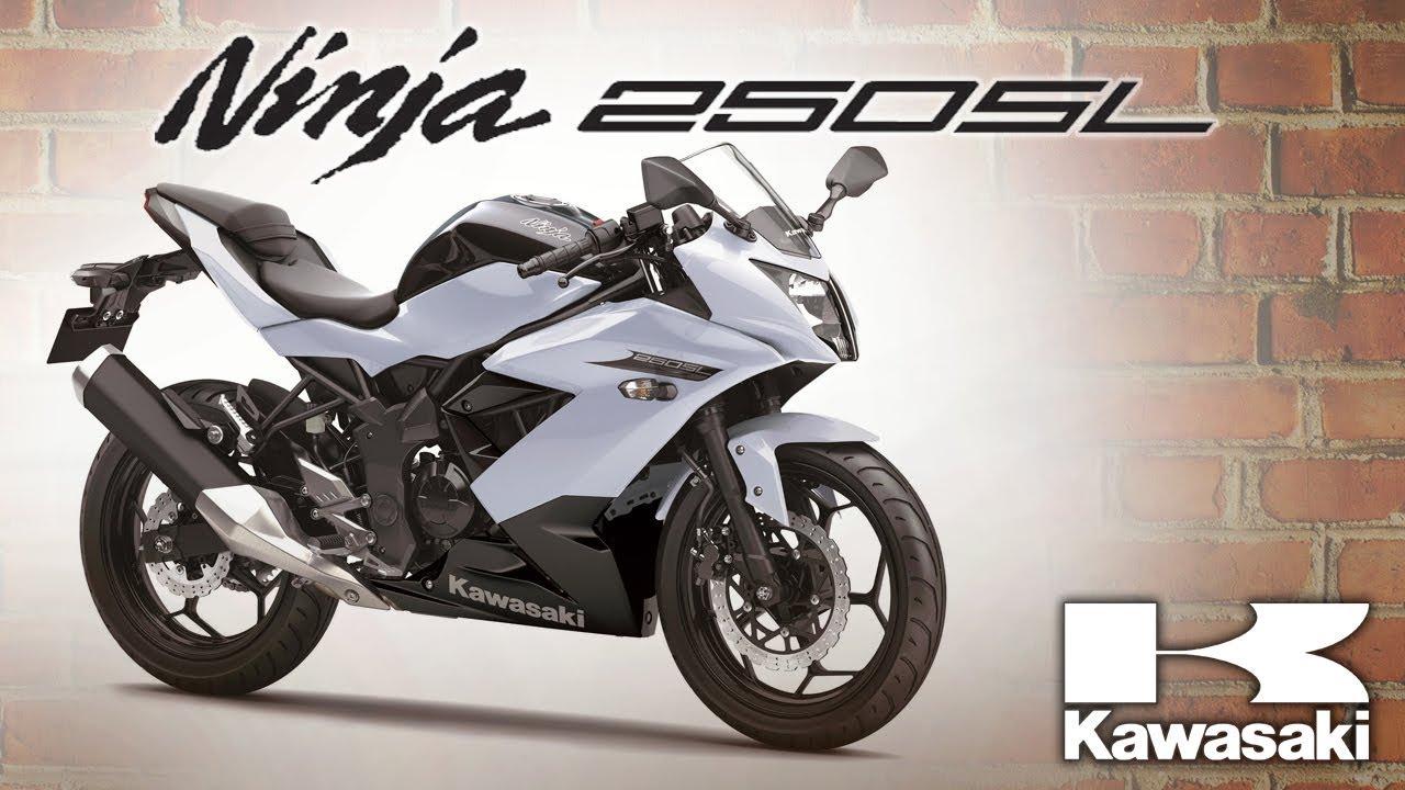 Ninja 250sl Color White Kawasaki Philippines Motorsiklo Youtube