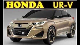Honda UR-V 2018 ✔ Interior and Exterior Overview | GET SMART