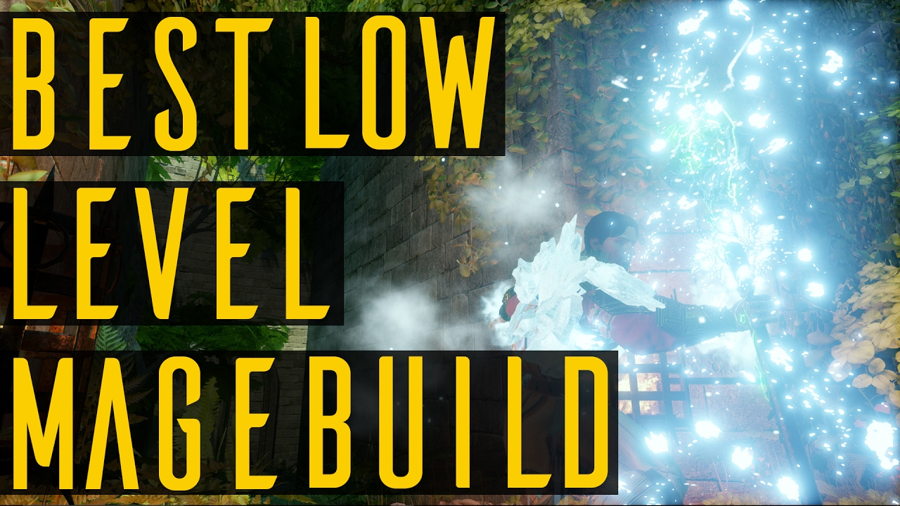 The Best Mage Build Low Level Dragon Age Inquisition Youtube