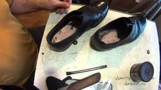 Заканчиваем работу с LOUIS VUITTON замена задников, стелек, уход. Ремонт обуви(, 2015-10-16T11:19:35.000Z)