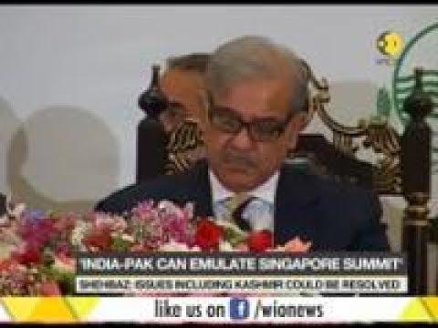 Shehbaz Sharif:  India-Pakistan must follow Trump-Kim