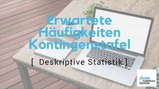 Deskriptive Statistik | Bivariate Daten |Erwartete Häufigkeiten