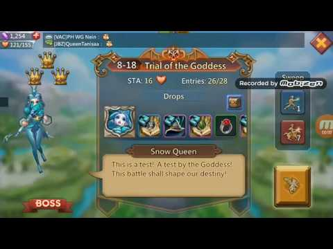 Lords Mobile - Elite Chapter Stage 8-18