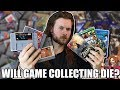 Will Game Collecting DIE OUT? Retro Game Bubble Burst?