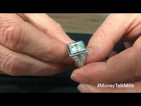 What Is An Antique Cut Diamond Worth? #MoneyTalkMills