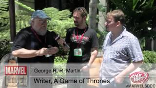 Hear George R.R. Martin's Take on Marvel's The Avengers at SDCC 2014