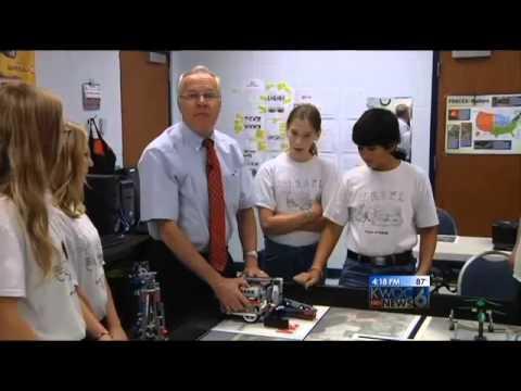 Rivermont Collegiate Robotics Team on Fran Riley