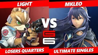 Genesis 6 SSBU - Light (Fox) Vs. FOX MVG | MKleo (Lucina) Smash Ultimate Tournament Losers Quarters