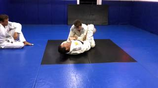 Bruno Ewald of Longman Jiu JItsu Kauai shows an Armbar from the Gua...