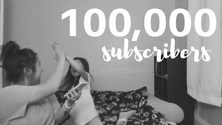 I'VE REACHED 100,000 SUBSCRIBERS!! Tysm ❤️