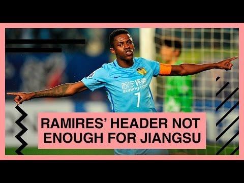 Ramires' header not enough for Jiangsu against Jeju
