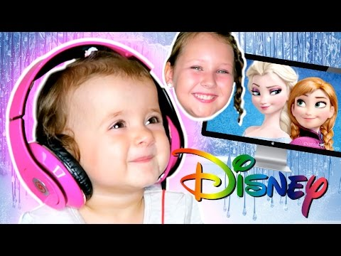 BONNIE REACTING TO DISNEY FOR THE FIRST TIME!! SO CUTE!! Ruby Rube and Bonnie