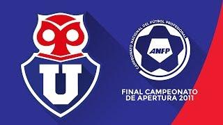 Video U de Chile vs Catolica  - Campeonato Nacional Apertura 2011 - FINAL download MP3, 3GP, MP4, WEBM, AVI, FLV Oktober 2018