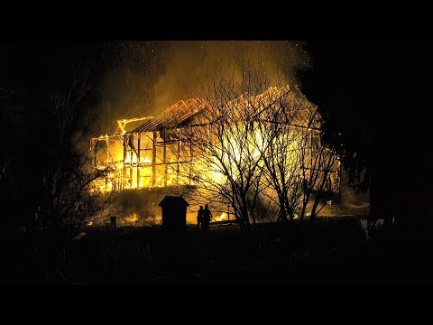 Action Packed Structural Fire in North Whitehall, Pennsylvania