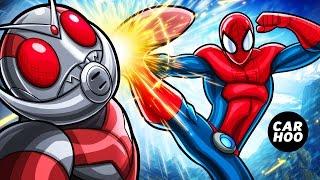 MASKED SPIDER Ep02 - Spider-man vs Antman Fist Fight !!!! 【Marvel's Spider-man Parody】