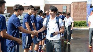 【日本代表活動日記】6/26 U-19日本代表に見送られ決戦の地へ