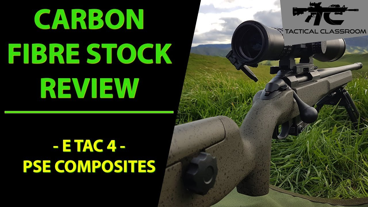 PSE Composites - The Next Level in Rifle Stocks