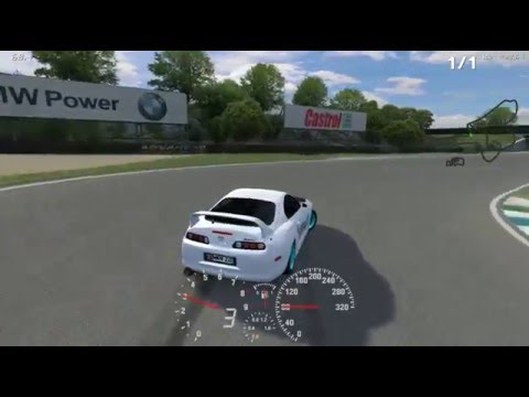 LFS Toyota Supra MKIV 2JZ-GTE  Engine and Setup Download