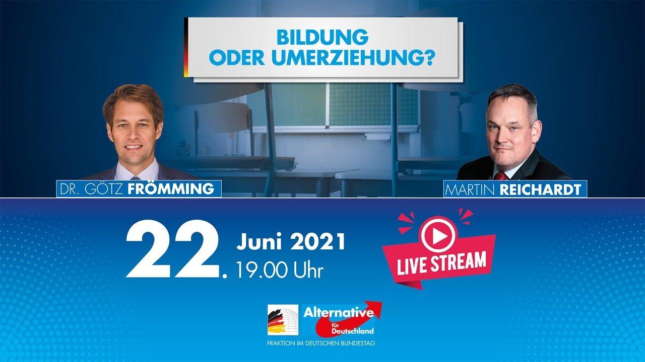 22.06.2021 Live-Podiumsdiskussion: Bildung oder Umerziehung?