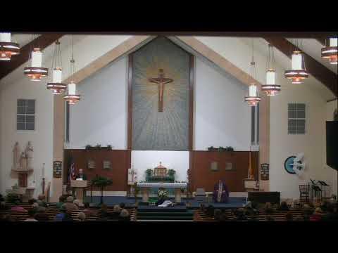 5:30 pm Mass -- December 9, 2017