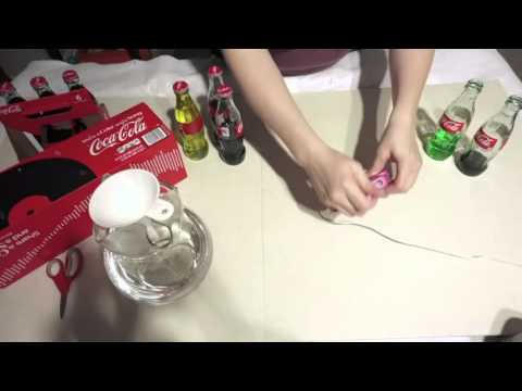 Easy DIY Xylophone from Coca Cola Bottles