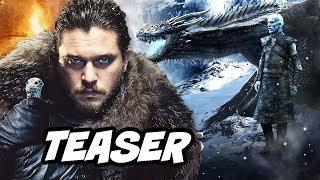 Game Of Thrones Season 8 Teaser - White Walkers and Episode Details Breakdown