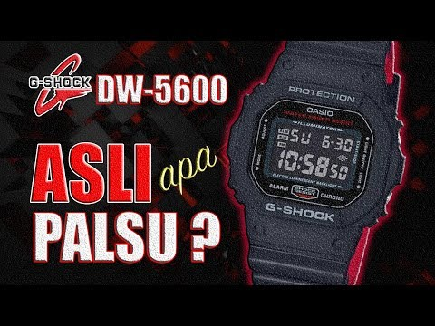 G-SHOCK DW-5600 : Cara Bedain ORI ATAU KW ‼️ G-Shock Asli Atau Palsu ⁉️ [English Subtitled]