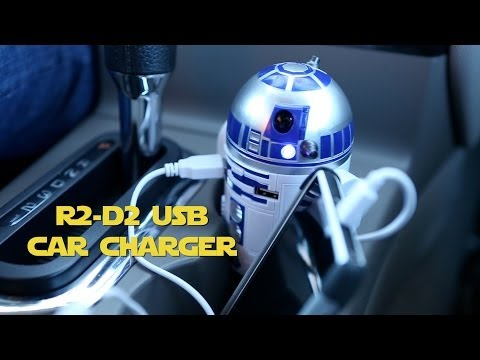 R2-D2 USB Car Charger from ThinkGeek