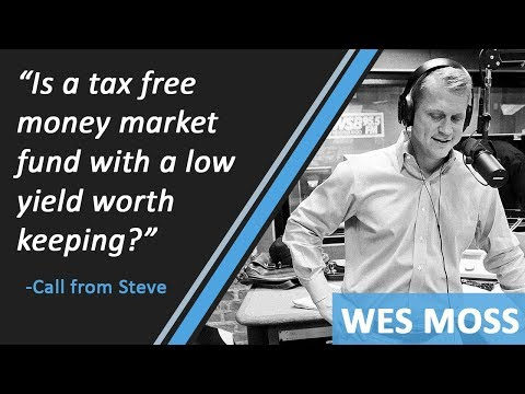 """Is A Tax Free Money Market Fund With A Low Yield Worth Keeping?"""