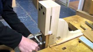 Mortise And Tenon Furniture: Jeff Miller's Tenon Jig