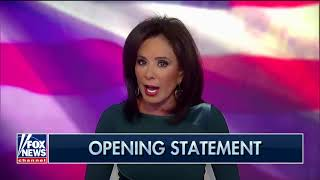 Judge Jeanine Opening Statement on Clinton Foundation