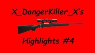 X_DangerKiller_X's Sniper Montage #4 | Highlights #4 (The Last of Us Remastered)