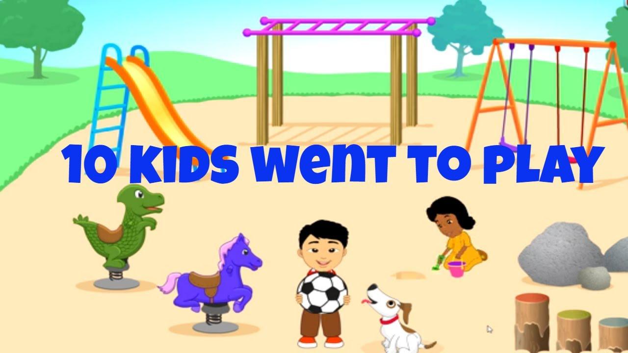 10 Kids Went To Play Starfall