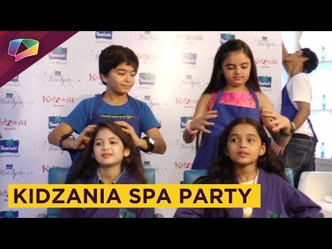Little stars of Television enjoy a Spa date