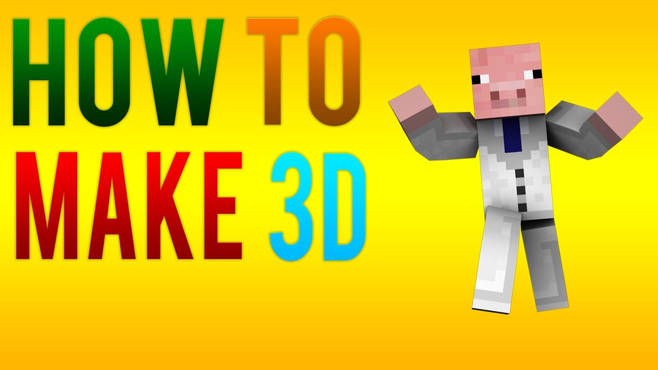 Make Your Minecraft Character Cinema