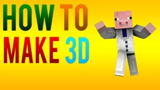 how to make your minecraft character 3d in cinema 4d