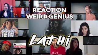Download Weird Genius - Lathi (ft. sara fajira) Reaction Mashup