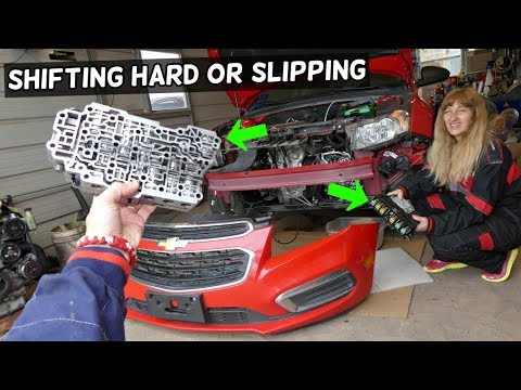 WHY TRANSMISSION SHIFT HARD OR SLIPPING ON CHEVROLET CRUZE CHEVY CRUZE SONIC