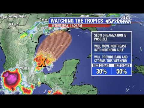 Tropical weather forecast: Oct. 16, 2019