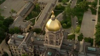 University of Notre Dame and South Bend Aerial