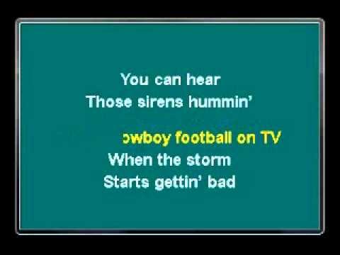 Toby Keith - Trailerhood Karaoke