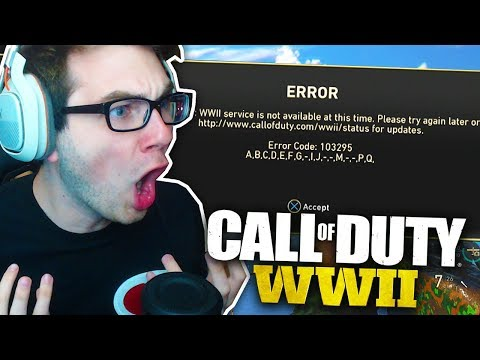 CALL OF DUTY WW2 RAGE... (they wouldn't let us play)