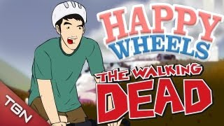 "Happy Wheels - ""The Walking Dead"""