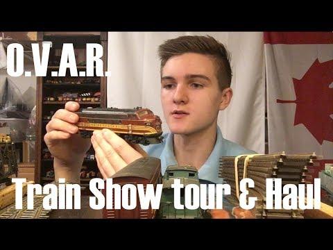 O.V.A.R. Train Show Tour and Haul