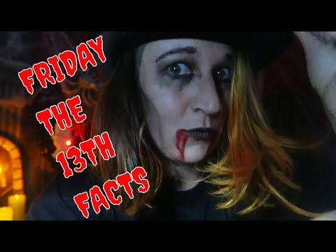 SPOOKY FRIDAY THE 13TH FACTS    VLOGOWEEN