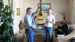 Новая уникальная гитара мастера Александра Усова