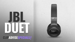 top 5 JBL Duet 2018: JBL Duet Bluetooth Wireless On-Ear Headphones - Black