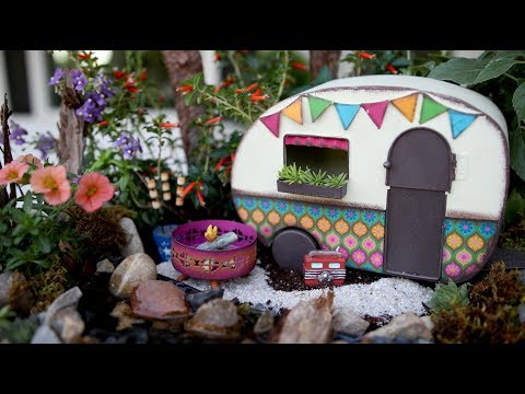 Mini Camping Garden  Garden Answer