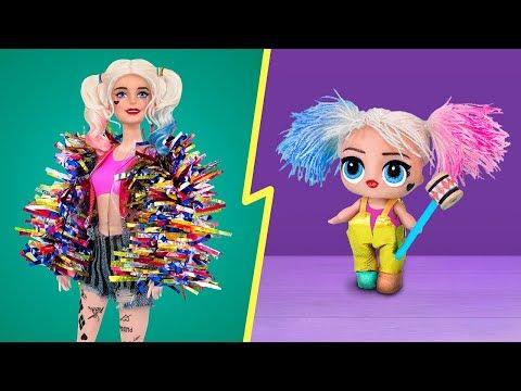 Bebeklerle Oynamanın Yaşı Olmaz! Kendin Yap Tarzı 10 Barbie Ve LOL Sürpriz Bebek El İşi