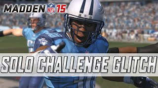 MUT 15 Solo Challenge Glitch! | Terror Pack Opening | Madden 15 Ultimate Team